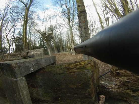 Paintball Commando: 1st game of the day - had borrowed a friends gun with camera
