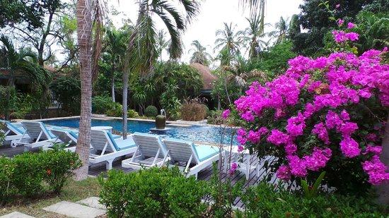 Arayaburi Boutique Resort: piscine-jaccuzi