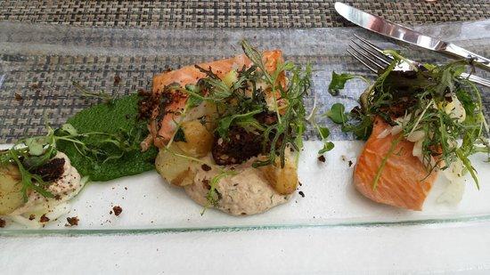 Ravintola Krapihovi: Smoked salomon