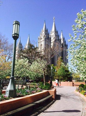 Temple Square: Tempio dei mormoni