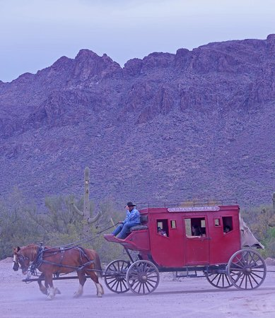 Old Tucson : Stage Coach