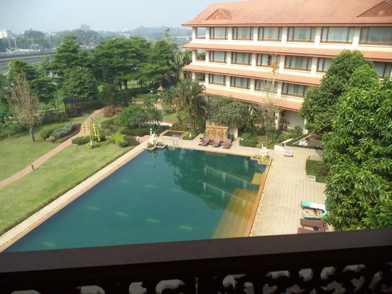 The Imperial River House Resort: View from room