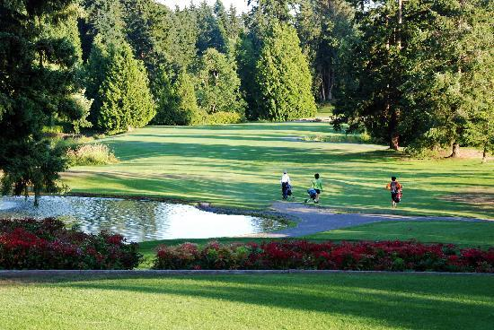 Surrey, Canada: Peace Portal Golf