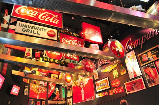 World of Coca-Cola: The Loft, showcasing the history & heritage