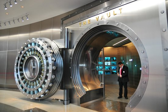 World of Coca-Cola: Entering the Vault of Secret Formula, not that they really tell you much