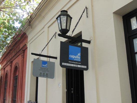 Posada El Capullo : Entrada e cartaz