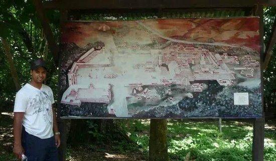 Copan Ruinas: ENtrance map