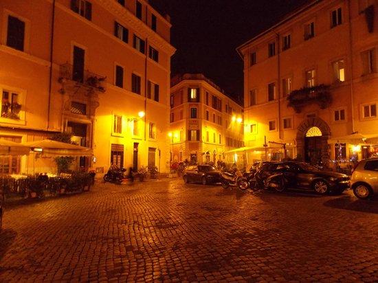 Piazzas en Trastevere.