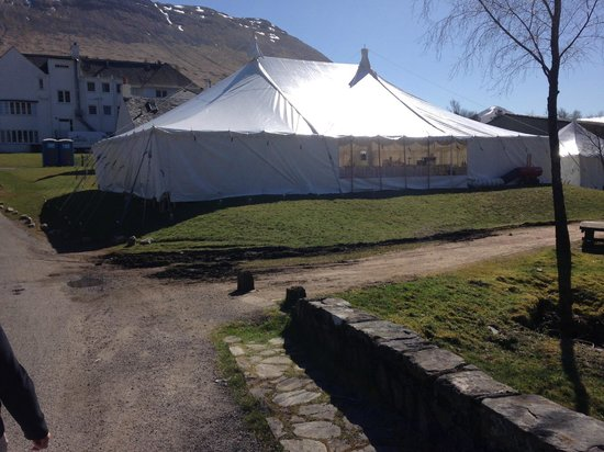 Bridge of Orchy Hotel: Our marquee