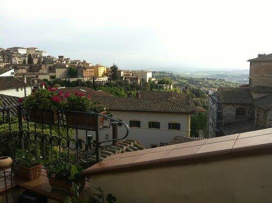 Primavera Mini Hotel: Terrace view