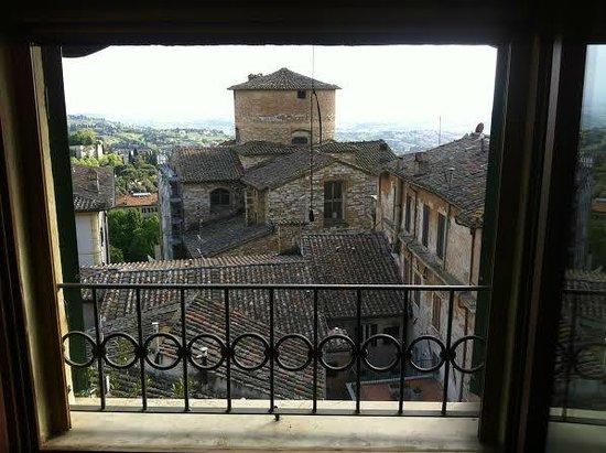 Primavera Mini Hotel: View from window inside room
