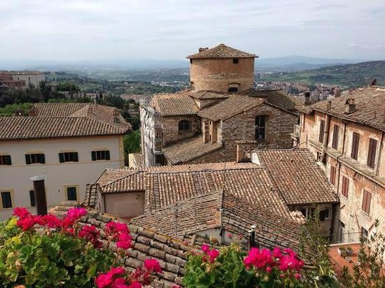 Primavera Mini Hotel: Terrace view - stunning!