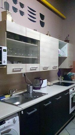 Ahoy! Hostel : The kitchen