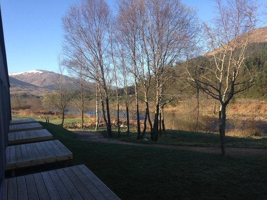 Bridge of Orchy Hotel: View from the river rooms