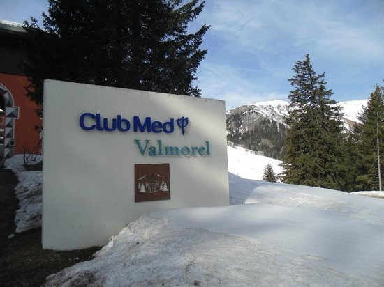 Club Med Valmorel : Entrada