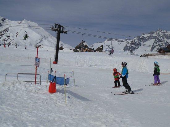 Club Med Valmorel : Pistas de esqui/snow