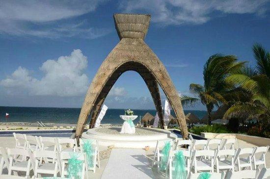 Dreams Riviera Cancun Resort & Spa: terrace