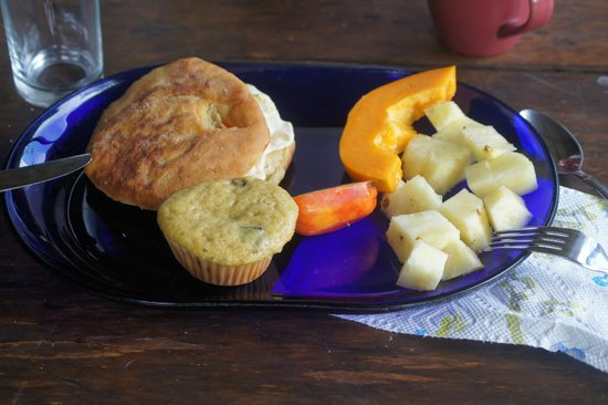 Roots Jungle Retreat : Petit déjeuner