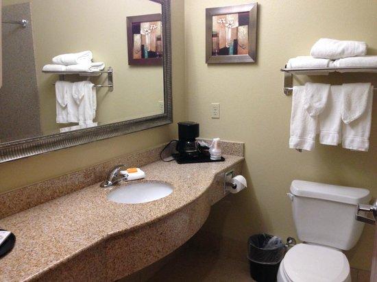 La Quinta Inn & Suites New Iberia : Bathroom