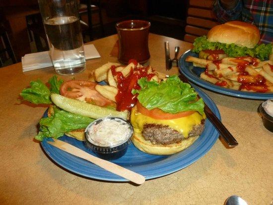 Ponderosa Cafe: Ponderoas Cafe- Best Black Angus Cheeseburger Anywhere