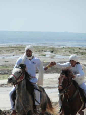 Club Med Djerba la Douce : la fantasia sur la plage