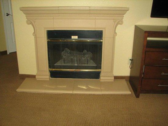 Scottsdale Villa Mirage: Fireplace