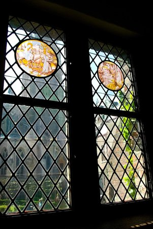 Nuit Blanche: Fifteenth century, leaded stained-glass windows.