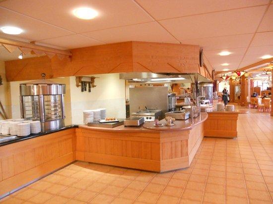 Club Med Serre-Chevalier : une partie du restaurant