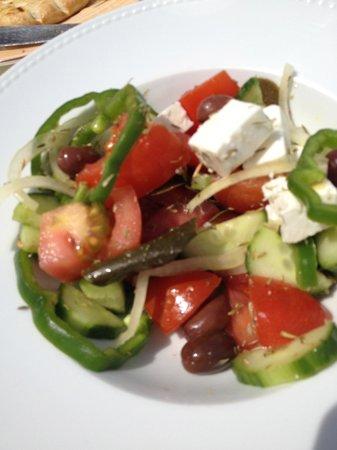Daios Cove Luxury Resort & Villas: Greek Salad
