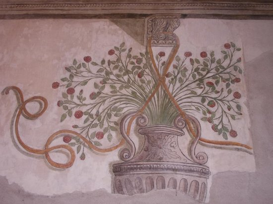Casina Del Cardinal Bessarione: casina c.bessarione - affresco 4
