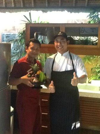 The Villas Bali Hotel & Spa: Our chefs!