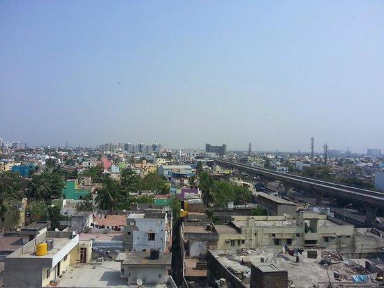 Ginger Hotel Chennai: View of the metro
