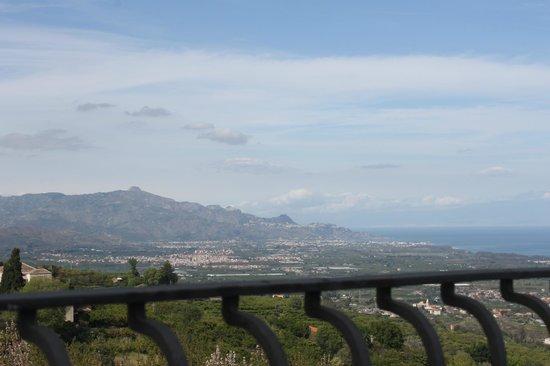 Il Ciliegio dell'Etna: dalla terrazza