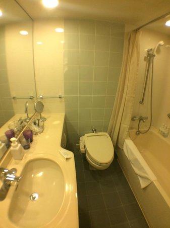 Hotel Metropolitan Edmont Tokyo: Bathroom