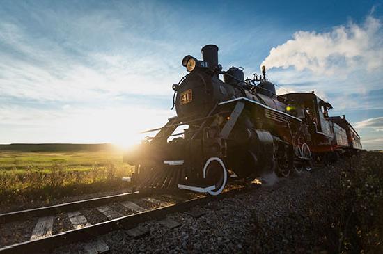 Alberta, Canada: Stettler Prairie Steam Train