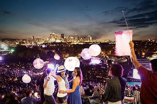Alberta, Canada: Dacing with Lanterns at the Edmonton Folk Festival