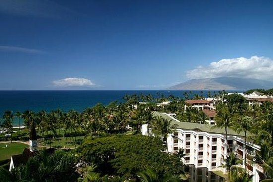 Grand Wailea - A Waldorf Astoria Resort: WOW view from room at the Grand Wailea, Maui (melissa mccoy)