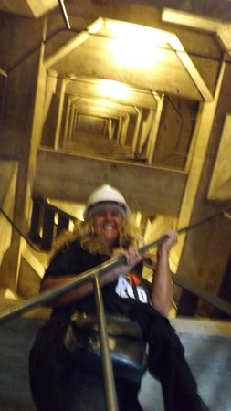 TourGuide Neyla : I'm made it to the statue interior! Permit to one day in life time!