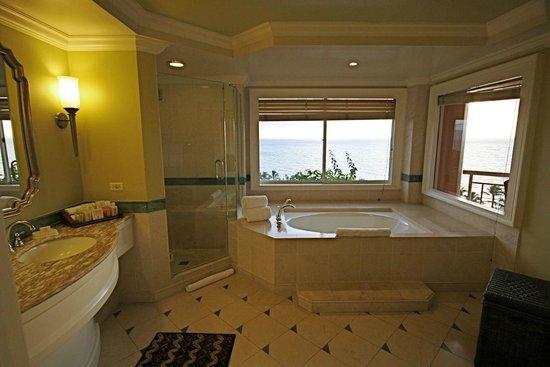 Grand Wailea - A Waldorf Astoria Resort: Oh la la, my favorite bathtub in Hawaii!  Grand Wailea, Maui (melissa mccoy)