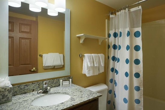 TownePlace Suites Tampa North/I-75 Fletcher : Guest Bathroom