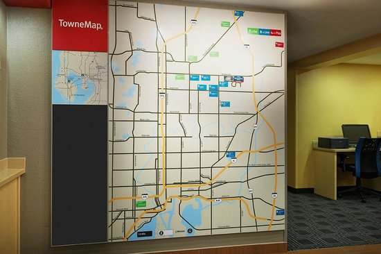TownePlace Suites Tampa North/I-75 Fletcher : TowneMap
