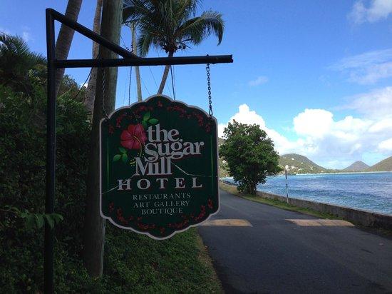 Sugar Mill Hotel: The Sugar Mill Sign