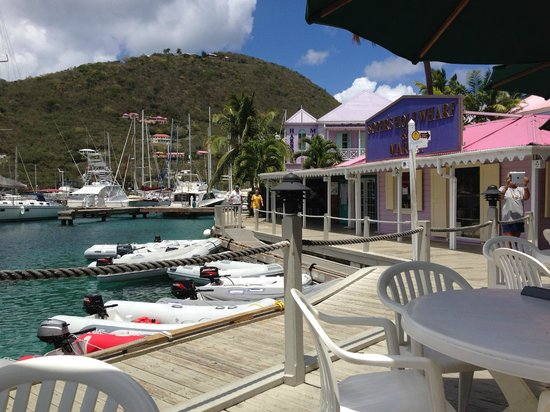 Sugar Mill Hotel: Soper's Hole Marina - good for shopping and a lunch
