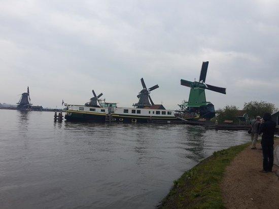 Zaanse Schans Windmills ,The Netherlands