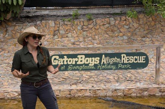 Everglades Holiday Park : GatorGal