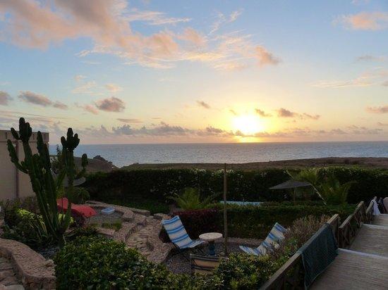 coucher de soleil vu d'Aftas Trip