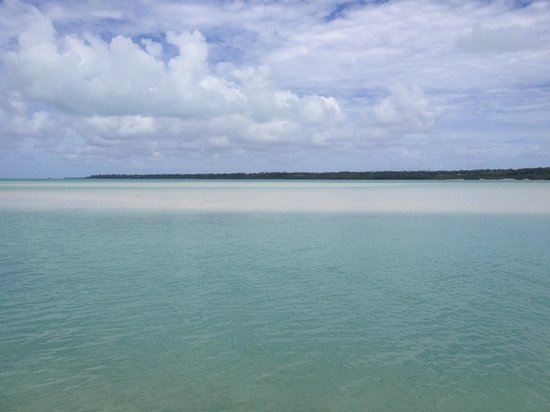 Aitutaki Village: View from Samade