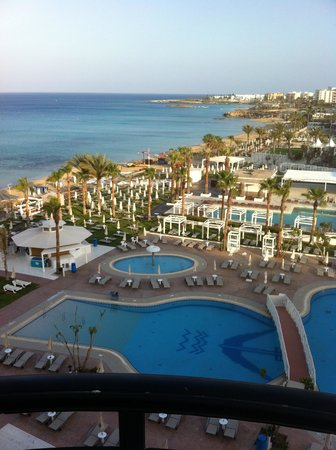 Constantinos the Great Beach Hotel: view from our room