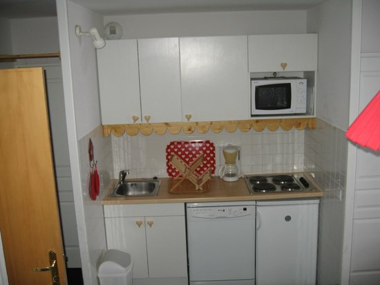 Residence Les Balcons de Sirius: coin cuisine