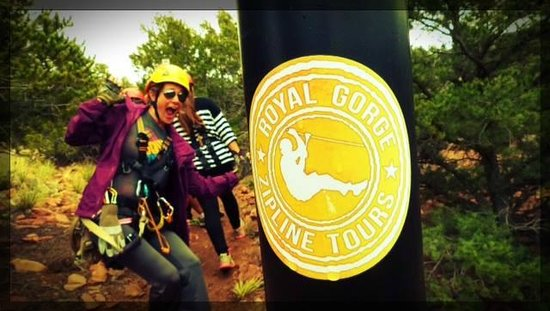 Royal Gorge Zip Line Tours : Loved HER!